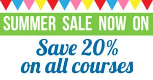 Save 20% in our Summer Sale