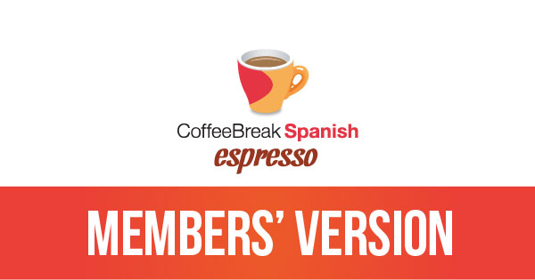 Coffee Break Spanish Espresso – accessing the premium version