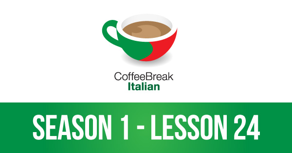 CBI 1:24   Spelling in Italian and an introduction to verbs