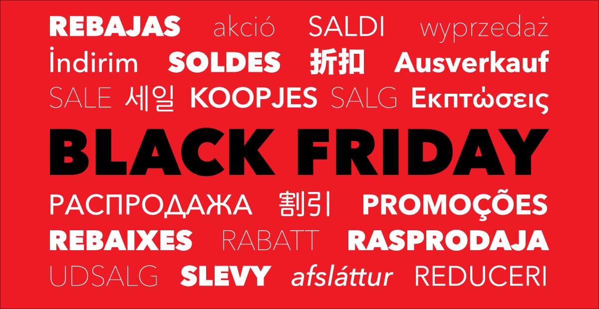 Black Friday Cyber Monday Sale 2015