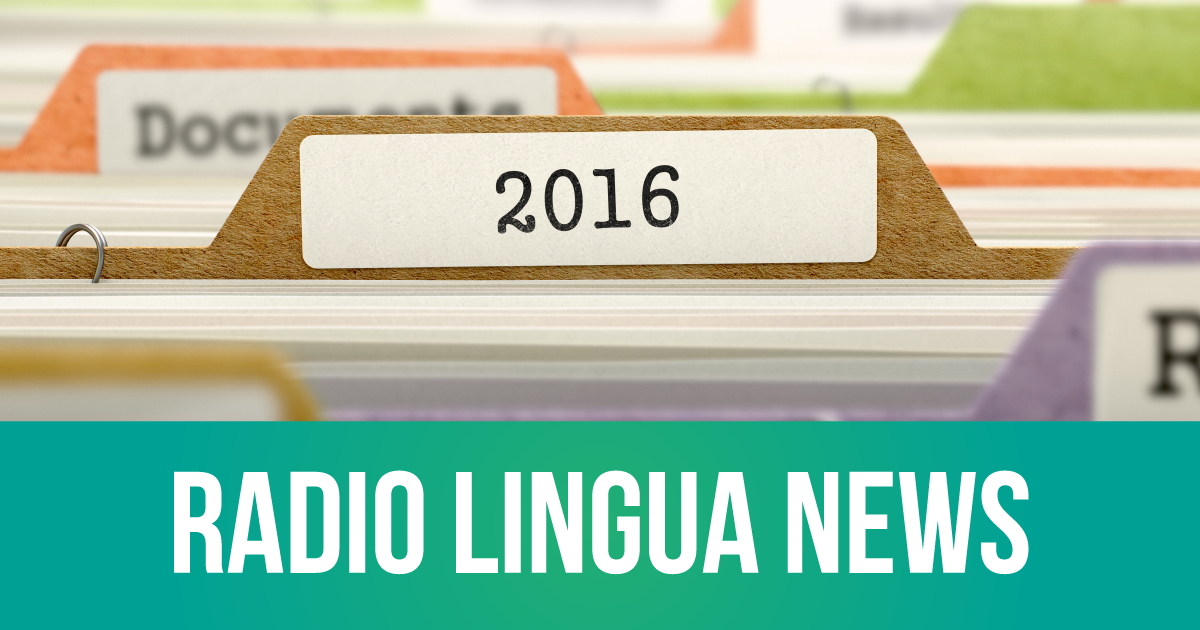 Radio Lingua Update January 2016
