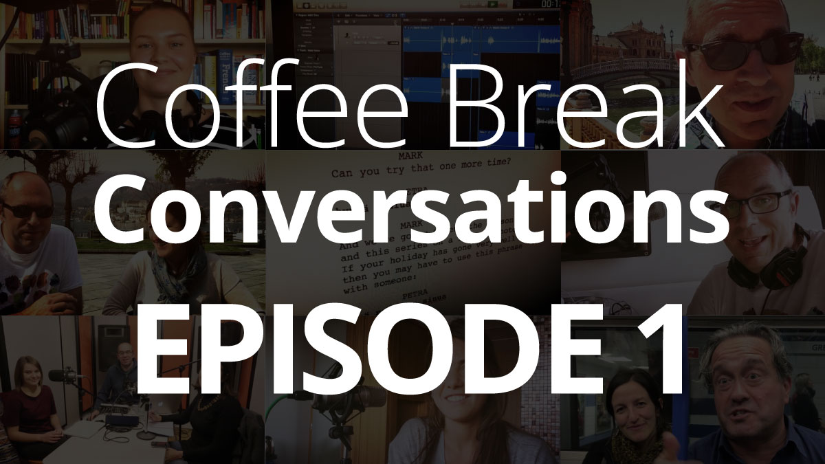 Episode 1 – Coffee Break Conversations