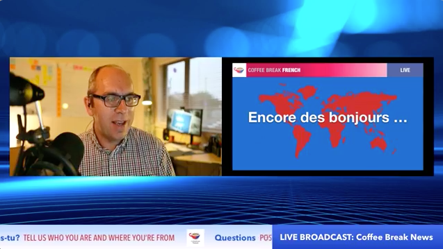 Coffee Break French News – Live Q&A