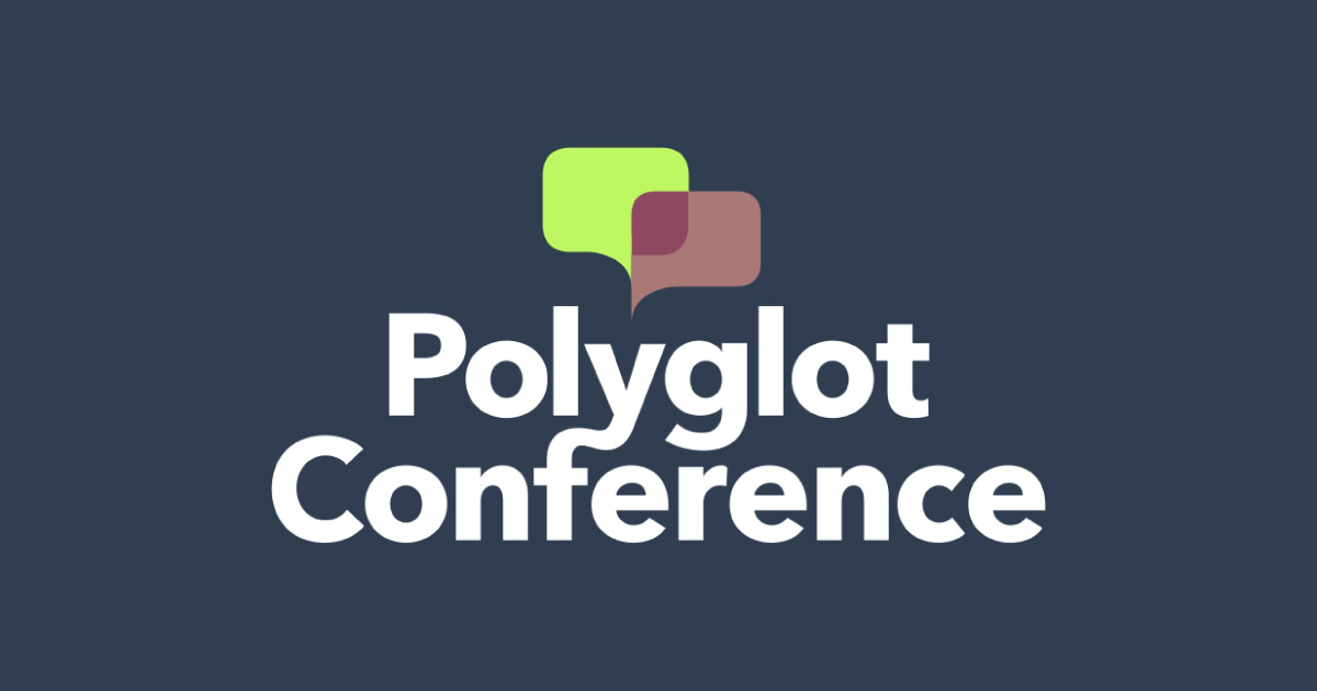 Supporting the Polyglot Conference