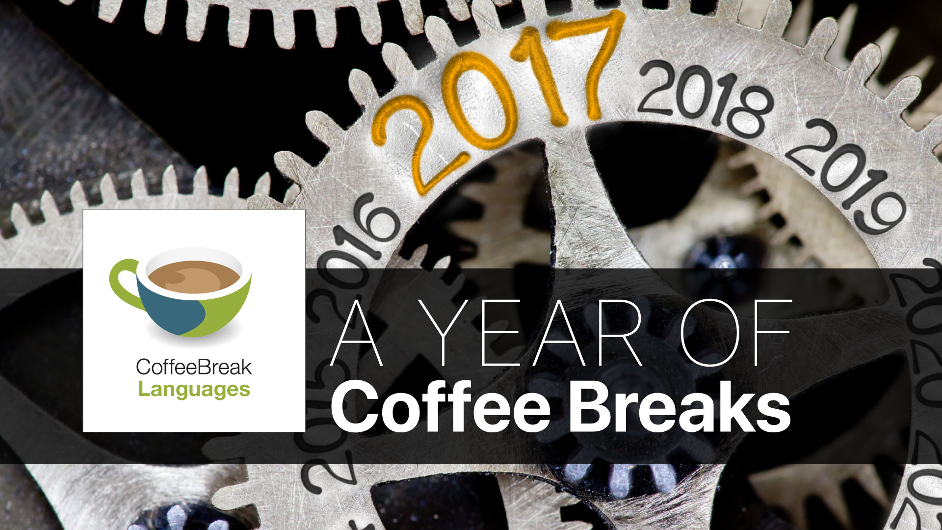 Looking back over the past year at Coffee Break Languages ...