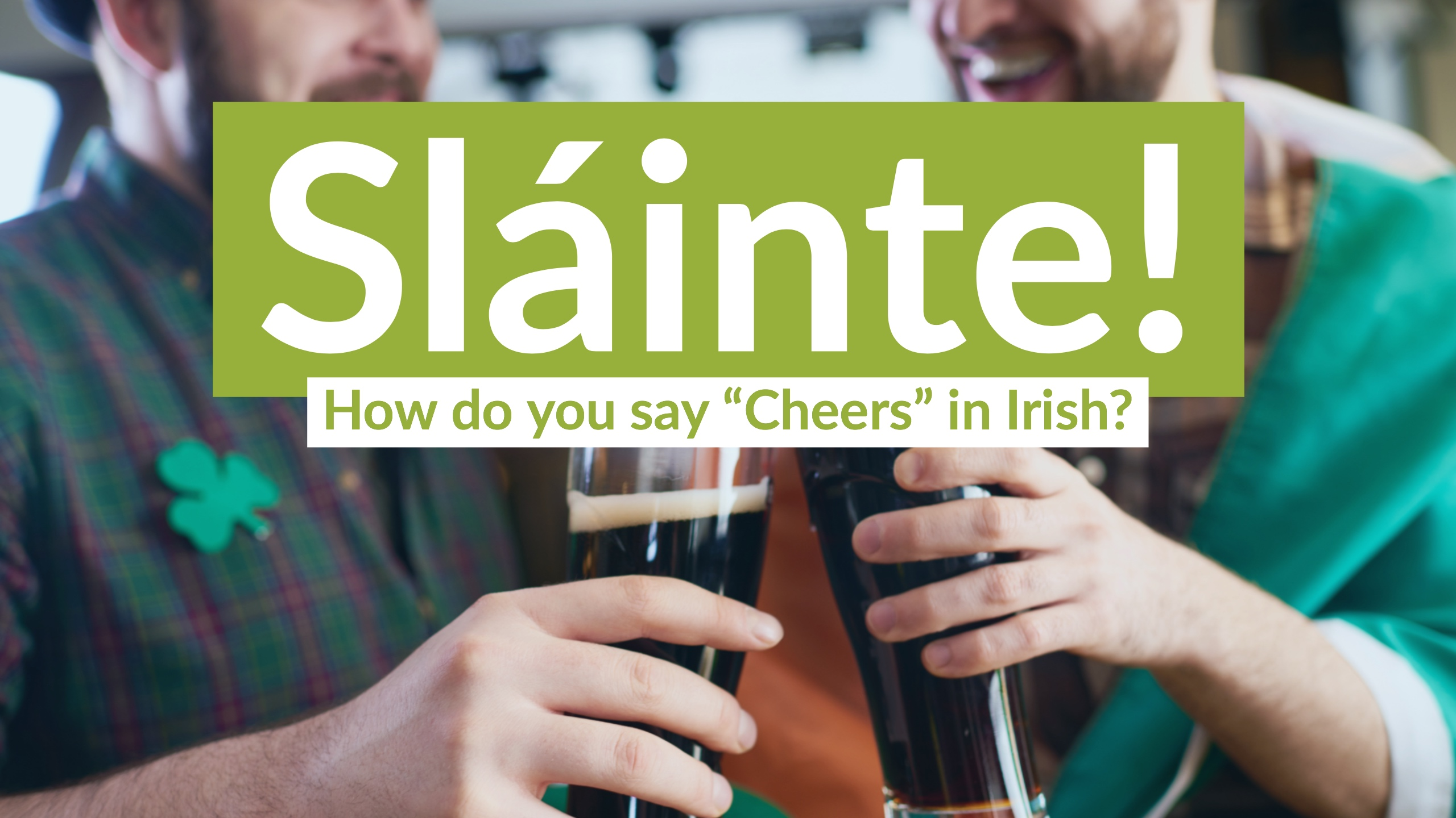 How to say cheers in irish and much more coffee break languages m4hsunfo